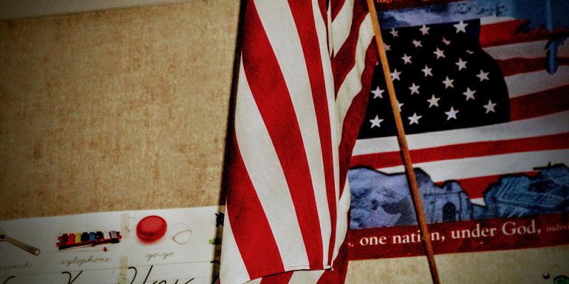 Freedom Flag Symbol